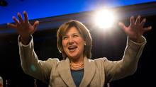 B.C. Premier and Liberal Party Leader Christy Clark. (DARRYL DYCK for the globe and mail)