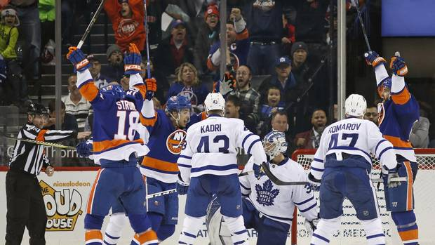 Brock Nelson's OT Goal Lifts Islanders To Victory Over Leafs