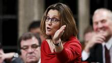 International Trade Minister Chrystia Freeland is embarking on cross-country consultations on the Trans-Pacific Partnership trade agreement. (CHRIS WATTIE/REUTERS)
