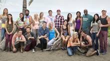 The 20 castaways of Survivor: Blood vs. Water. (Monty Brinton/CBS)