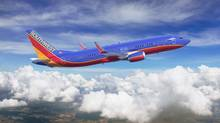 About two-thirds of Points International's revenues are from airline partners such as Southwest Airlines. (Boeing Graphics/Ed Turner)