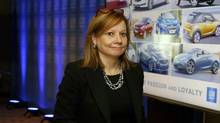 General Motors chief executive Mary Barra is facing pressure from prominent shareholders to translate GM's enviable financial results into a higher stock price. (Jeff Kowalsky/Bloomberg)