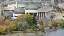 A view of the Canadian Museum of History is shown in Gatineau, Que., on Tuesday, Oct. 16, 2012. (Sean Kilpatrick/THE CANADIAN PRESS)