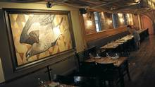 The interior of Marben at 488 Wellington St West, Toronto. (Kevin Van Paassen/Kevin Van Paassen/The Globe and Mail)