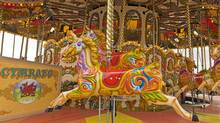 Take a twirl on the old-fashioned carousel which overlooks the rejuvenated harbour. (Kate Pocock)