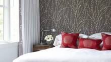 Kim Hannaford's bedroom is her favourite room (Michael Graydon/HANDOUT)