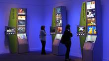 The Art of Games exhibition, which runs March 16 through September 30th, 2012 at the Smithsonian American Art Museum, showcases art, video, and interactive elements from scores of games ranging from Pac-Man to Mass Effect. (Smithsonian American Art Museum)