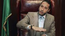 Saadi Gaddafi, son of the late Libyan leader Muammar Gaddafi (STR/REUTERS)