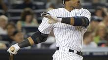 New York Yankees batter Robinson Cano. (file photo) (RAY STUBBLEBINE/REUTERS)