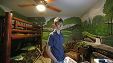 'I can actually talk to people now, I can actually interact with my parents and friends,' says Patrick Hindmarsh, 14. (Deborah Baic/The Globe and Mail)