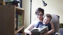 Deanna Yerichuk believes full-day learning has been beneficial for her son Milo, 5. (BRETT GUNDLOCK FOR THE GLOBE AND MAIL)