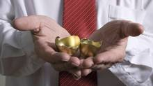 DBRS said 53.4 per cent of the pension plans it studied had assets below 80 per cent of their funding obligations at the end of 2011. (Christine Glade/iStockphoto)
