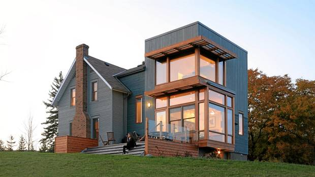 Farmhouse Addition Adds A Modern Touch The Globe And Mail