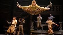 Matt Alfano (centre) in the Stratford Festival's 2013 production of Fiddler on the Roof. (Cylla von Tiedemann)