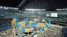 The Opening Ceremonies of SkyDome, June 3, 1989. (Gord Iverson/Provided)