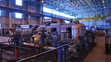 Inside Unit 3 of SaskPower's Boundary Dam Power Station (SaskPower)