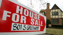 Housing prices in Canada are expected to show a dip in July. Tim Boyle/Getty Images (Tim Boyle/Getty Images)