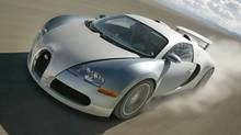 Designers of the $2.7-million Bugatti Veyron Super Sport did not need have budget concerns, but all the money in the world does not make a pretty car. (Bugatti)