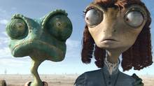 "A scene from ""Rango"" (Industrial Light & Magic)"