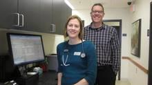 Dr. Marci Wilson and Martin Penninga (Horizon Family Medicine)