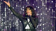 Joni Sledge of Sister Sledge appears on stage at the amfAR's 23rd Cinema Against AIDS Gala at Hotel du Cap-Eden-Roc on May 19, 2016 in Cap d'Antibes, France. (Andreas Rentz/Getty Images)