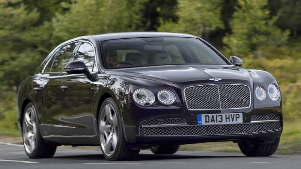 2014 Bentley Flying Spur: The company claims the car is its fastest, most powerful four-door Bentley model ever. (Bentley)