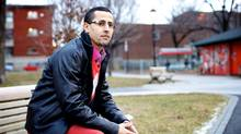 Researcher and Islamic studies scholar Hicham Tiflati, 39, was asked to leave Montreal's new anti-radicalization centre after co-authoring a newspaper opinion piece describing the nature of Islamophobia in Quebec as 'unique, and quite worrisome.' (Sarah Mongeau-Birkett for The Globe and Mail)