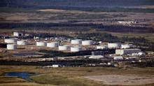 Suncor Energy Inc. oil tanks near Fort McMurray, Alberta. (Ben Nelms/Bloomberg)