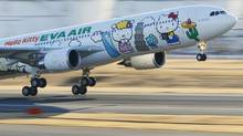 Eva Airways is currently the only airline that flies directly to Taipei International Airport from Toronto. (Reuters)