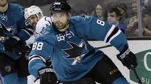 San Jose Sharks' forward Brent Burns (Associated Press)