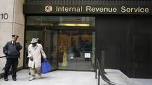 An Internal Revenue Service office in New York. (LUCAS JACKSON/REUTERS)