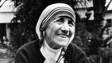 Mother Teresa, pictured c. 1986, will become Saint Teresa of Calcutta on Sunday. (Mary Ellen Mark)