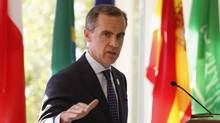 Bank of Canada Governor Mark Carney was clear last week that the central bank will cut its economic outlook. (TODD KOROL/REUTERS)