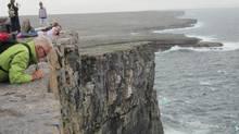 Dun Aengus cliffs, Ireland (Kym Robertson)