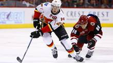 Flames Catch Fire On Power Play In Win Over Coyotes