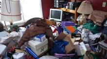 A before photo from the A&E series Hoarders. (The Canadian Press)