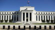 The Federal Reserve Building stands in Washington April 3, 2012. (JOSHUA ROBERTS/REUTERS)