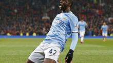 Man City's Yaya Touré may be the best box-to-box player in the world, and last year, he was better than he's ever been. (Phil Noble/REUTERS)