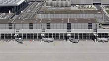The main terminal of Berlin-Brandenburg Willy Brandt International airport, Sept. 11, 2012. Its opening was delayed again this month. (TOBIAS SCHWARZ/REUTERS)