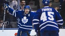 The Toronto Maple Leafs are avoiding use of the 'C' word when discussing Joffrey Lupul's injury. (MARK BLINCH/REUTERS)