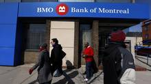 A Bank of Montreal location in Toronto. (Deborah Baic/The Globe and Mail)