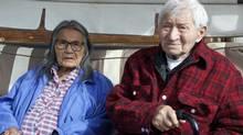 Alice and Arthur John of Ross River, Yukon (Sarah Niman)
