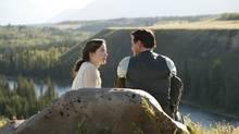 Caroline Dhavernas and Paul Gross star in Passchendaele. (Chris Large)