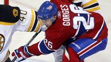 Montreal Canadiens' Josh Georges (The Canadian Press)