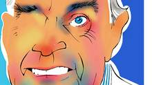 Illustration of former Canadian prime minister Paul Martin. (Anthony Jenkins/The Globe and Mail/Anthony Jenkins/The Globe and Mail)