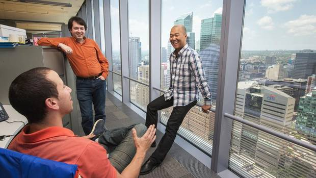 At Telus The Focus Is On Less But Better Office Space