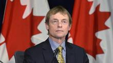 Dr. Gregory Taylor, Chief Public Health Officer of Canada, tabled a report to Parliament on Thursday about family violence. (Adrian Wyld/The Canadian Press)