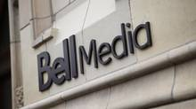 File photo of Bell Media sign. (Darren Goldstein/THE CANADIAN PRESS)
