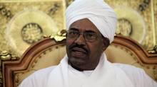 Sudan's President Omar Hassan al-Bashir, shown in Khartoum in April. (MOHAMED NURELDIN ABDALLAH/REUTERS)