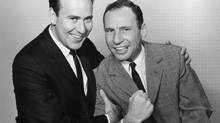 Still funny after all these years, Mel Brooks, right, and Carl Reiner appear on American Masters – Mel Brooks: Make a Noise on PBS